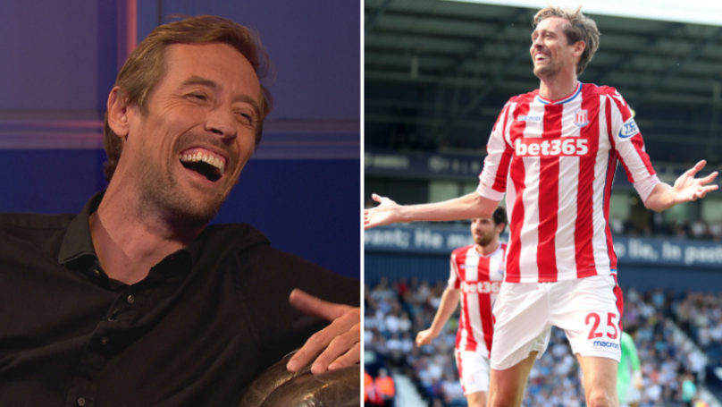 Peter Crouch To Star On New Amazon Prime Football Show 'Back Of The Net'