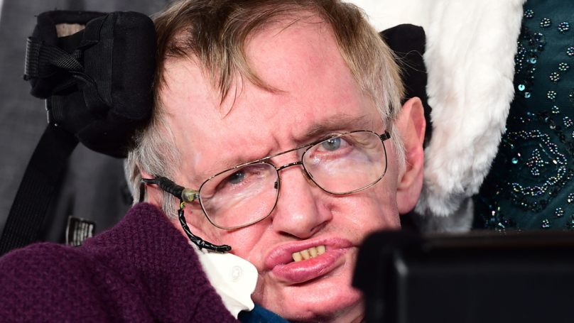 Stephen Hawking's Final Gift Helps Feed Hungry In Cambridge