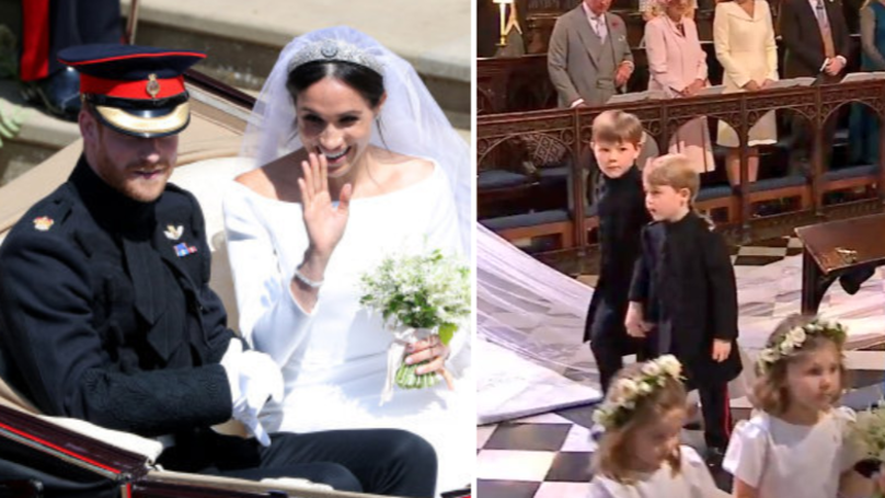 Prince George Completely Distracted Viewers At The Royal Wedding