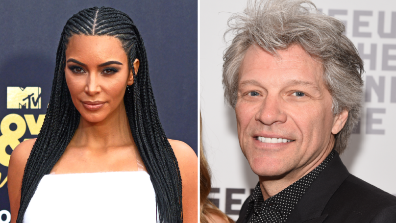Jon Bon Jovi Says Kim Kardashian Is Only Famous For Making A Sex Tape
