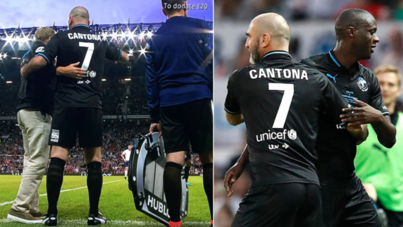 The Moment Eric Cantona Received Standing Ovation On Return To Old Trafford Is Special