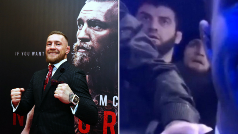 Conor McGregor Aims Shot At Khabib Nurmagomedov's Dad