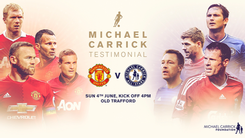 The Line-Ups For Michael Carrick's Testimonial Have Been Confirmed