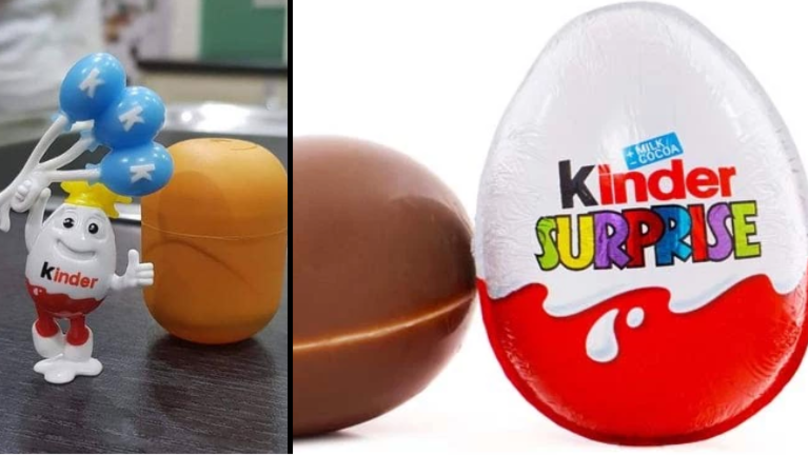 Mum Shocked To Find 'Racist' Toy Inside Kinder Egg