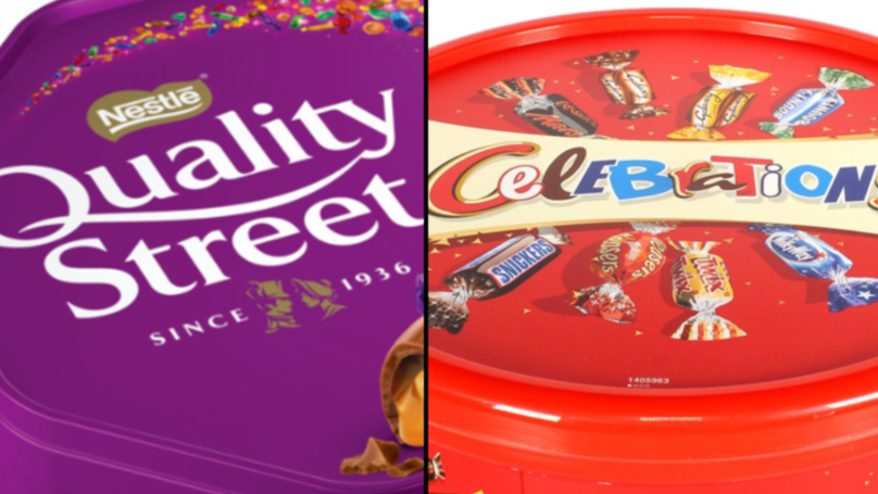 Quality Street, Celebrations, And Roses Tins Shrink AGAIN