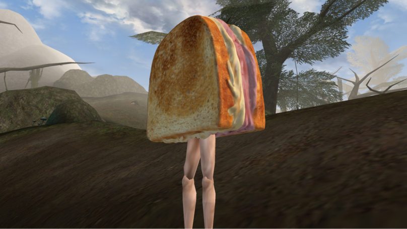 ​'Morrowind' Mod Has You Battle A Sandwich With Legs