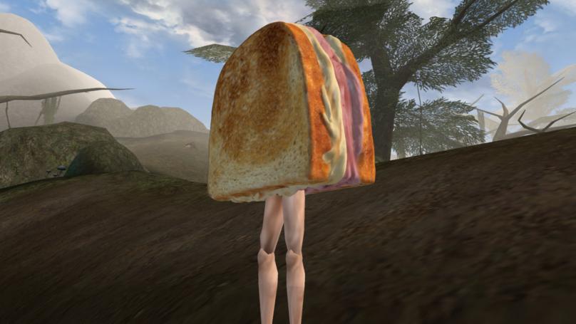 'Morrowind' Mod Has You Battle A Sandwich With Legs