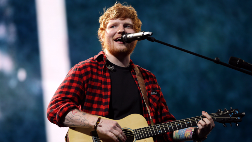 Doctors Told Ed Sheeran He'd Never Be Able To Play Guitar Again If He Didn't Postpone Tour