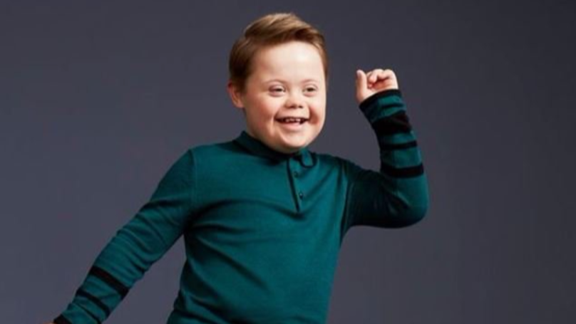 Kid With Down's Syndrome Is A New River Island Model