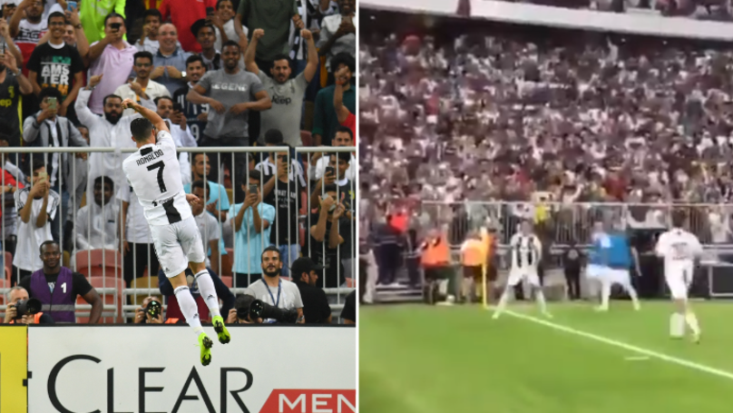 "61,000 Fans Shout ""SIIIII"" When Cristiano Ronaldo Celebrates In Spine-Tingling Moment"
