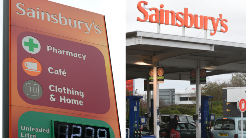 Sainsbury's Has Slashed The Price Of Fuel By Up To 2p
