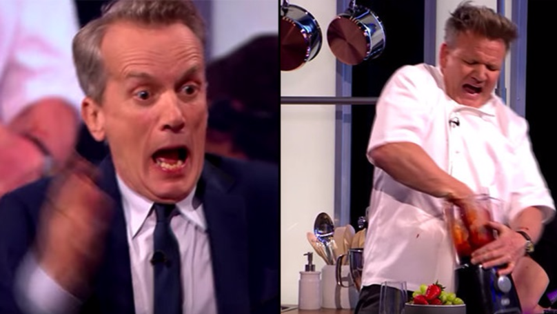 Gordon Ramsay Pulls Off Epic Prank On 'The Nightly Show'