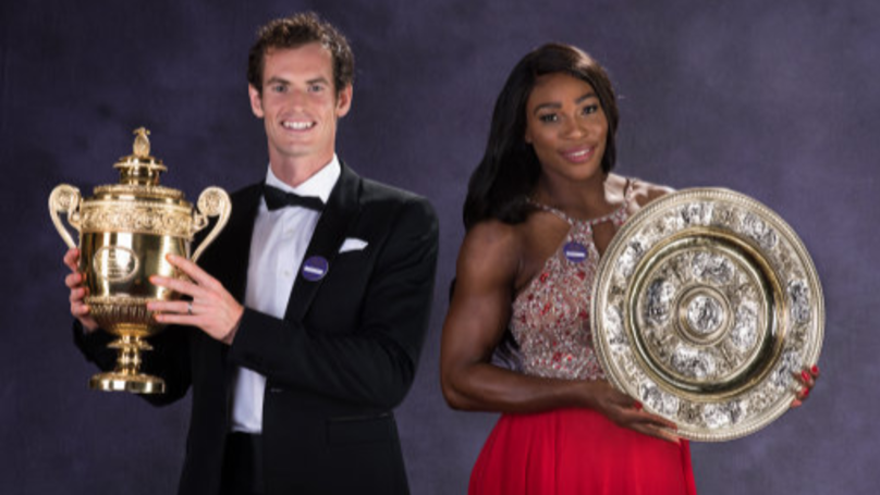 Andy Murray Will Play Alongside Serena Williams In The Mixed Doubles At Wimbledon