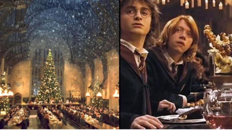 Muggles Can Eat Christmas Dinner In Hogwarts' Great Hall Again This Year