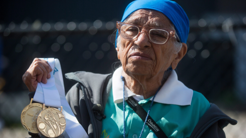 This 102-Year-Old Woman Just Won Another 200m Gold Medal