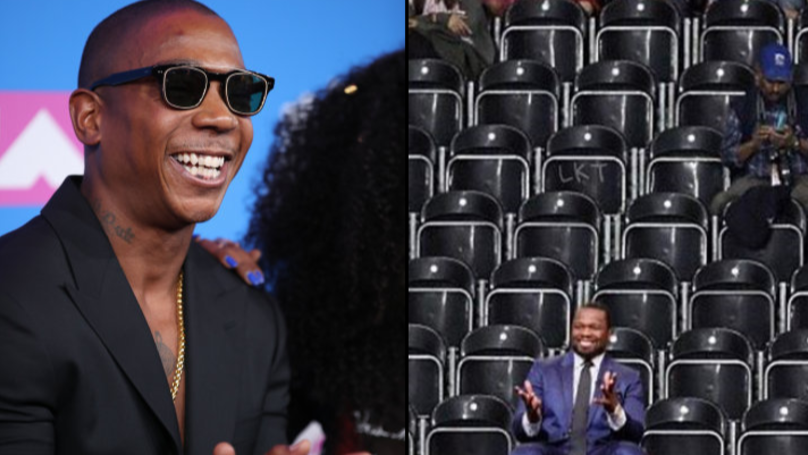 Ja Rule Responds After 50 Cent Bought Out Section At Gig