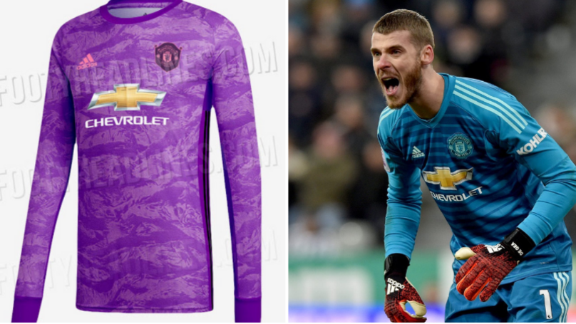 Manchester United's 2019/20 Goalkeeper Kit Leaked Online