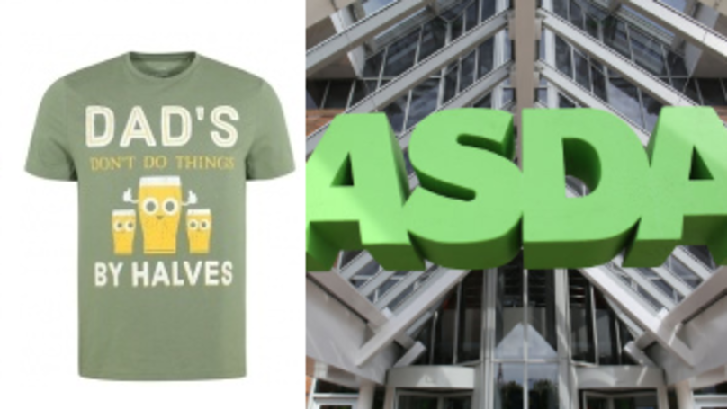 Shoppers Spot Grammatical Error On ASDA T-Shirt