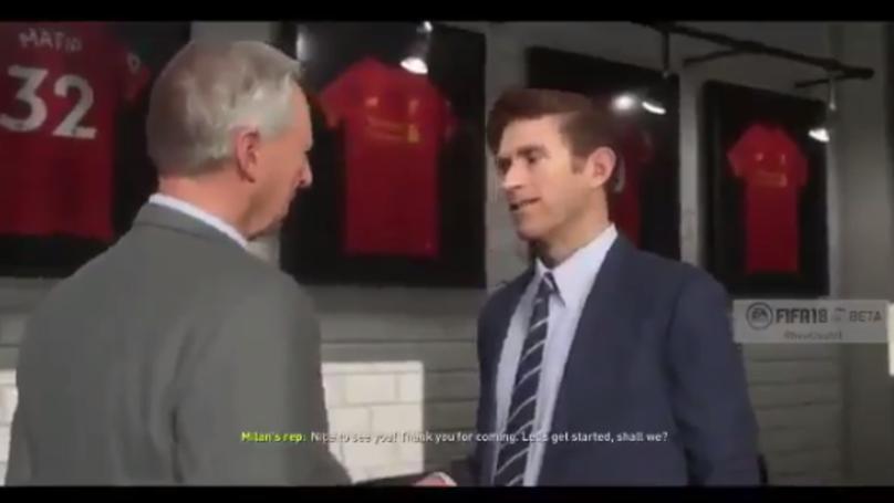 'FIFA 18' Career Mode Looks Incredible In Leaked Footage