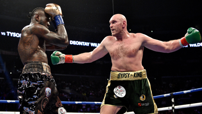 ​Tyson Fury Confirms He Donated £7m Fight Earnings To Charity