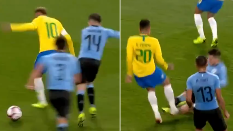 Arsenal's Lucas Torreira Brilliantly Stops Neymar, Then Immediately Slide Tackles Firmino