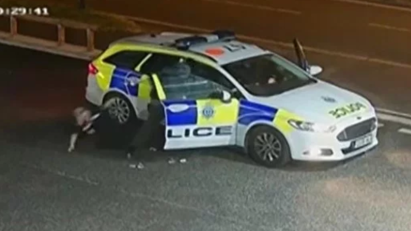 Armed Robber Throws Police Officer Out Of Car In Escape Bid