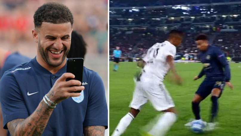 Kyle Walker Brutally Mocks Jesse Lingard After He Was Nutmegged, United Star Replies