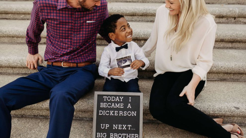Boy Finds Out He Will Be A Big Brother The Same Day He Gets Adopted