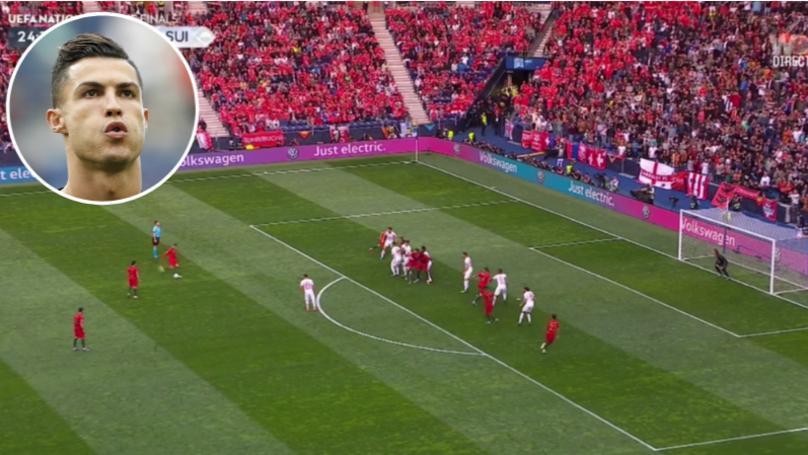 Cristiano Ronaldo Scores Brilliant Free Kick In Nations League Semi Final