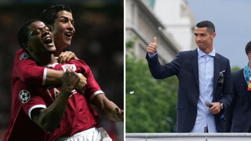 Patrice Evra Gives Cristiano Ronaldo Emotional Advice On Juventus Move