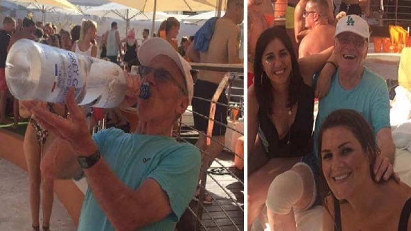 Grandad Parties Seriously Hard On His First Ever Trip To Ibiza