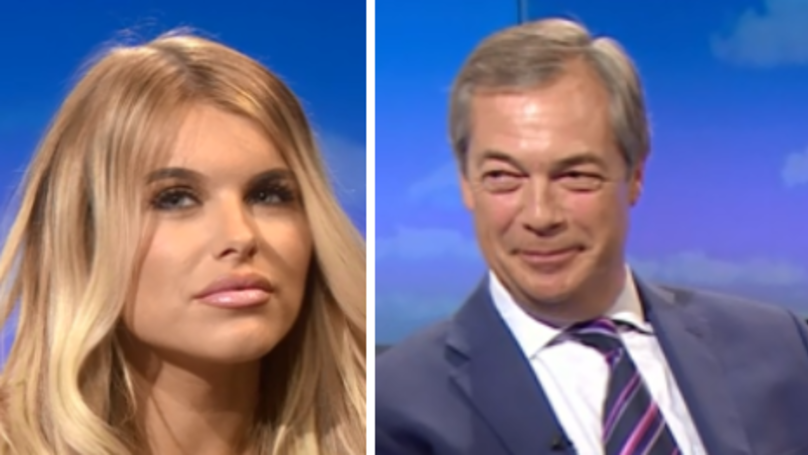 Love Island 2018: Hayley Hughes And Nigel Farage Discuss Brexit