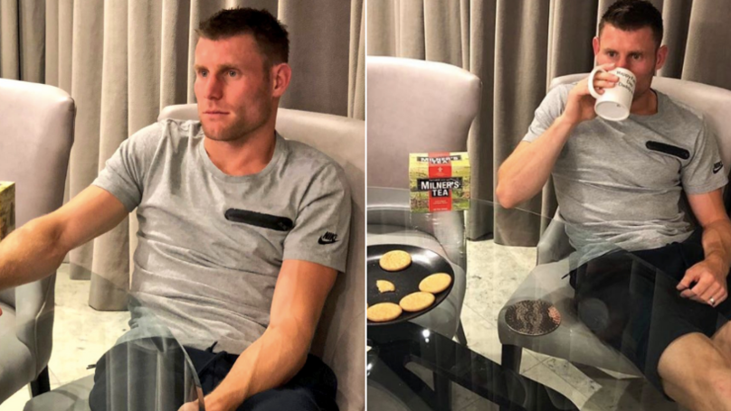 James Milner's Boring Post About England Is The Most James Milner Thing Ever