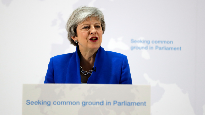 Theresa May Offers MPs Vote On Second EU Referendum