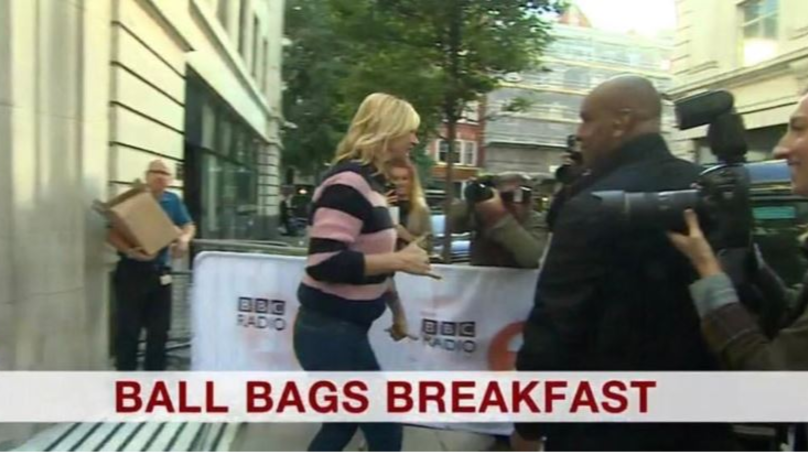 BBC Viewers In Hysterics Over Caption After Zoe Ball Lands Breakfast Show