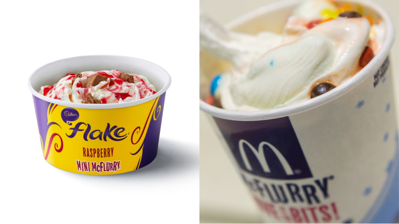 ​McDonald's Launches New Mini McFlurries And New Flavours – While Quietly Shrinking Regular Size