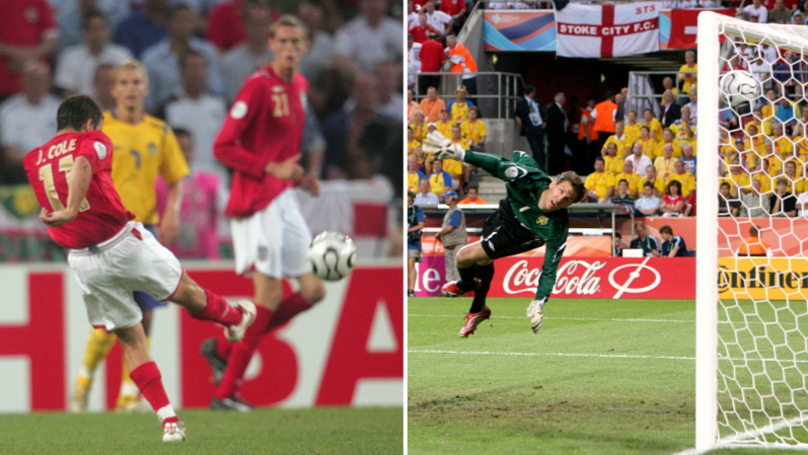 Remembering Joe Cole's Incredible World Cup Goal Against Sweden