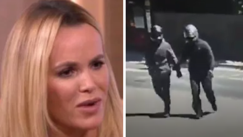 Amanda Holden Appeals For Information After Woman And Child Attacked In The Street