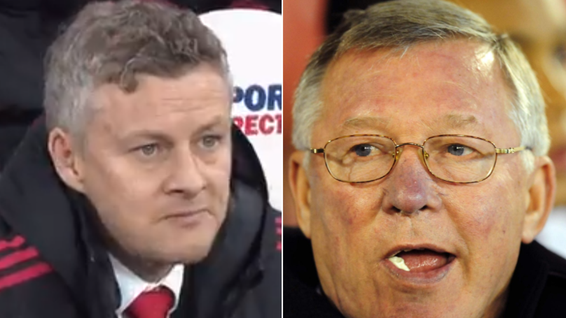 Man United Fans Get Nostalgic After Seeing Solskjær Chewing Gum Like Sir Alex