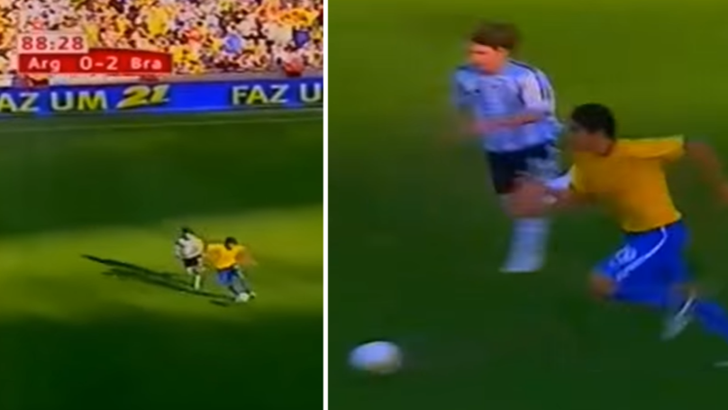 Watch: When Lionel Messi Tried To Catch Kaka In 2006