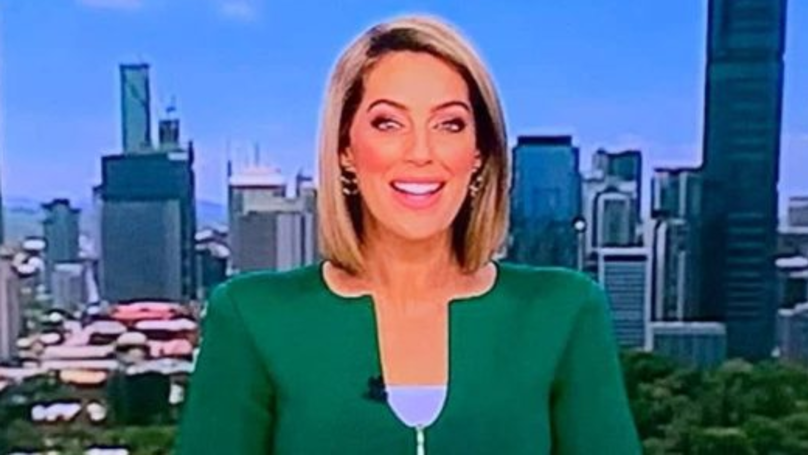 ​Viewers Reckon This Newsreader's Outfit Looks Like A 'Penis'