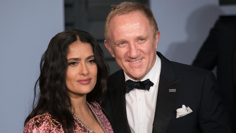 Salma Hayek's Husband Francois-Henri Pinault Pledges £86m Towards Notre Dame