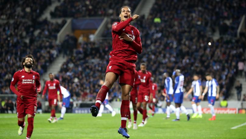 Virgil Van Dijk Set To Beat Raheem Sterling To PFA Player Of The Year Award