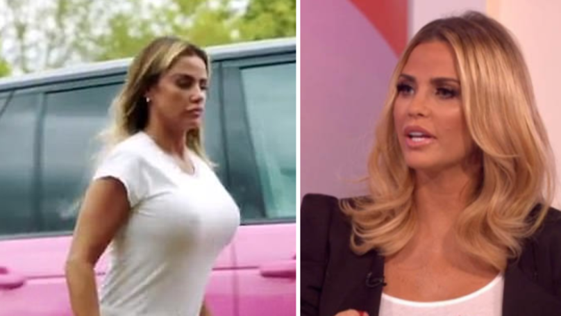 Katie Price Banned From Driving For Second Time In Six Years