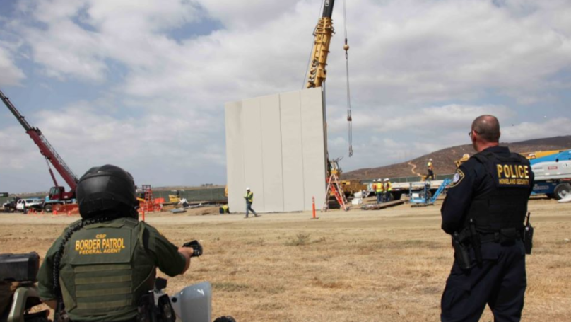 Images Show Prototypes Being Developed For Trump's Border Wall