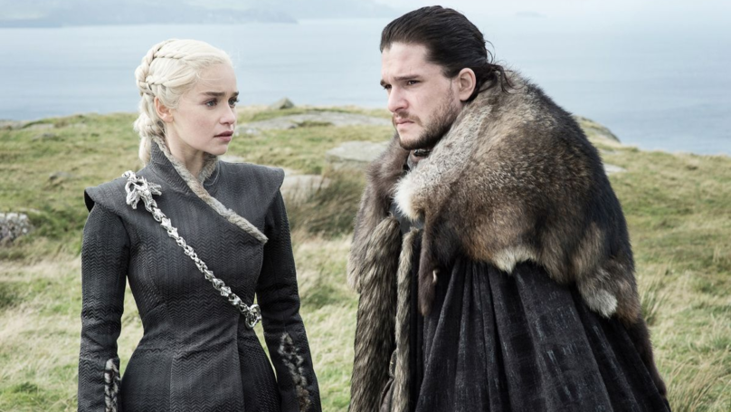 First Look At Game Of Thrones Series Eight Hints At A Future For Jon Snow And Daenerys