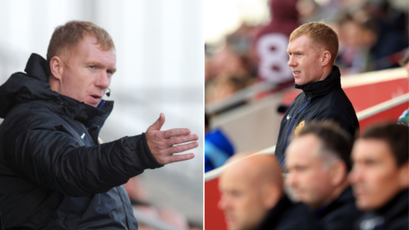 Paul Scholes Has Been Appointed The Manager Of Oldham Athletic