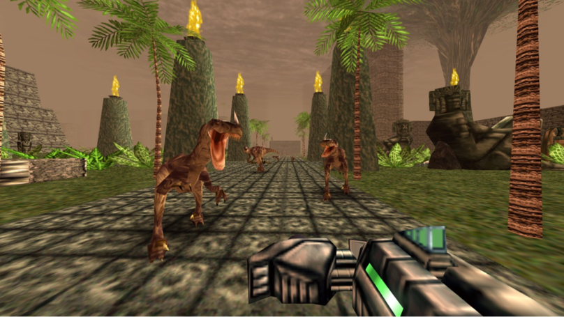 Nintendo 64 Classic 'Turok: Dinosaur Hunter' Is Releasing Soon For Switch