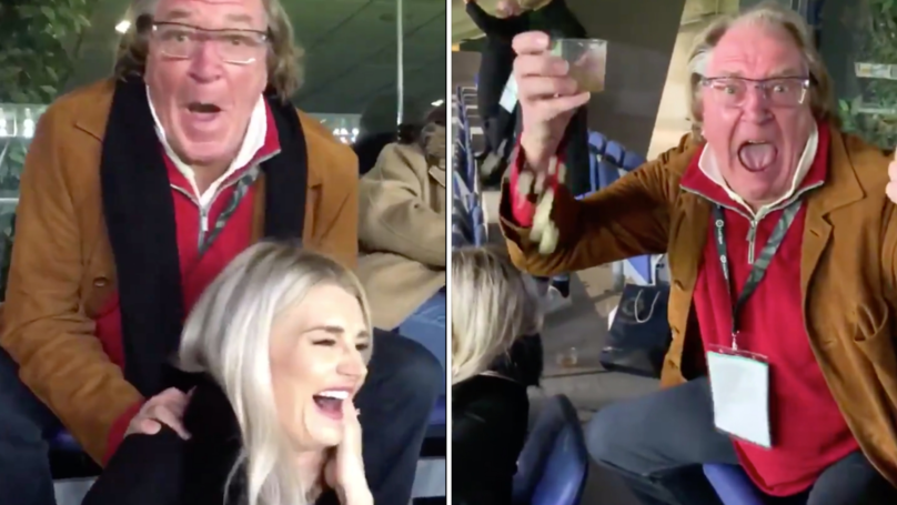 Ray Hudson's Incredible Reaction To Lionel Messi's First Free-Kick Is Pure Class