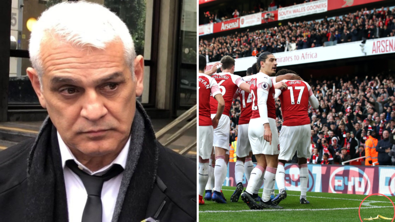 Fans Outraged At Spurs Supporter Receiving £500 Fine After Throwing Banana Skin At Aubameyang